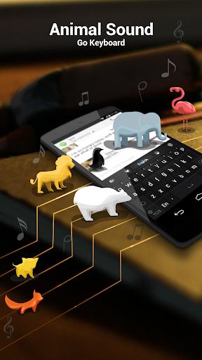 GO输入法动物类按键音