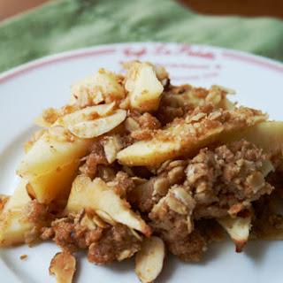 Not-Too-Sweet Apple Crisp