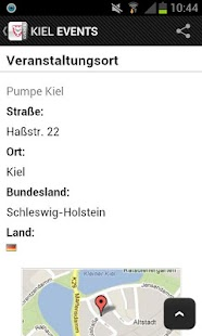 KIEL EVENTS › Eventguide- screenshot thumbnail