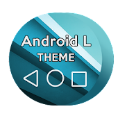 L BLUE Android Theme CM11/PA