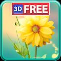3D Flowers Live Wallpaper Lite icon