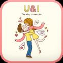 U AND I go launcher theme icon