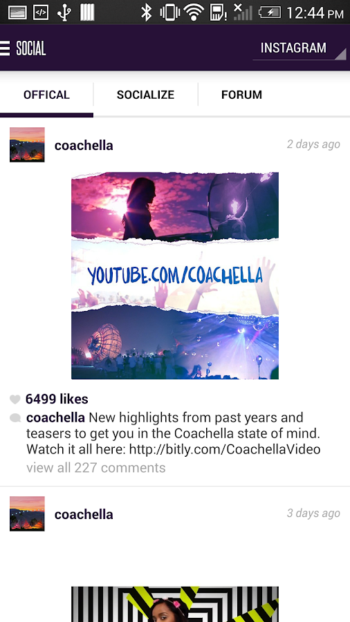 Coachella 2014 Official - screenshot