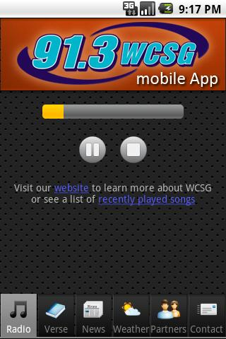 WCSG 91.3- screenshot