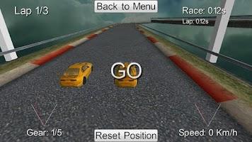Screenshot of Multiplayer Racing Free