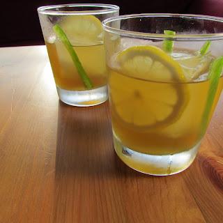 Maple-Jalapeño Bourbon Cocktail.