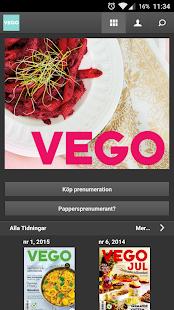 VEGO screenshot