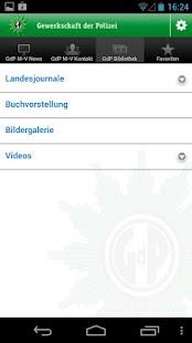 Gewerkschaft der Polizei (GdP)- screenshot thumbnail