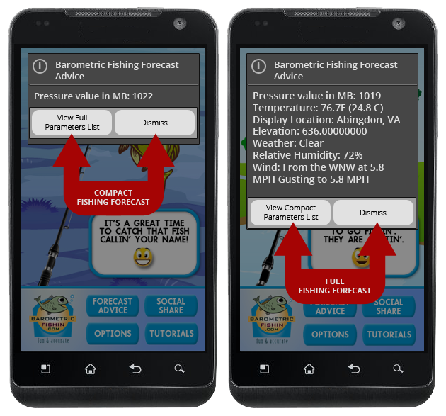 fishing app barometric fishing android apps on google play