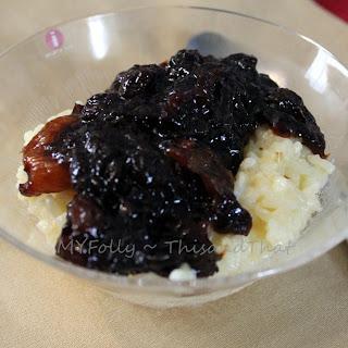 Rice Porridge And Prune Soup.