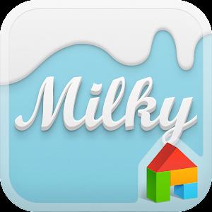Milky Sky Dodol Theme 個人化 App LOGO-APP試玩