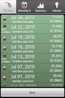 Screenshot of Fuel Friend Lite