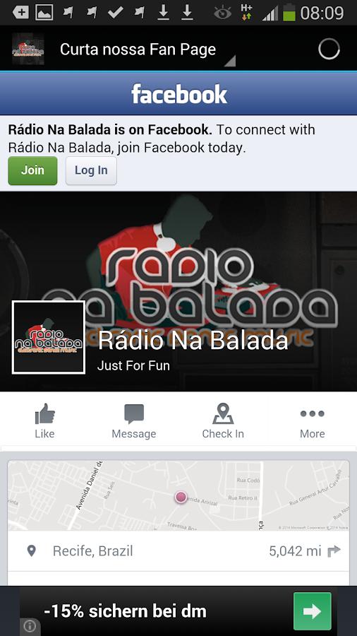 Radio Na Balada Brazil - screenshot