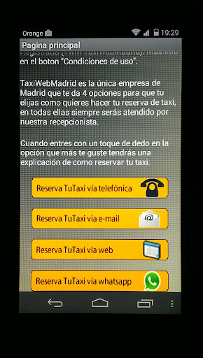 【免費交通運輸App】Taxi Madrid - TuTaxi TwM®-APP點子