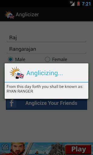 Anglicizer - English Names