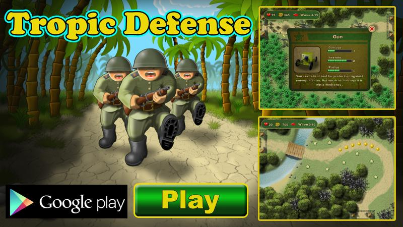 Tropic Defense- screenshot
