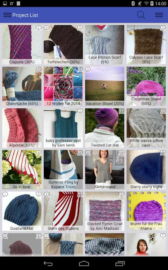 Stash2Go: Ravelry on the Go - screenshot