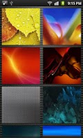 Screenshot of HD Wallpapers for Galaxy S3