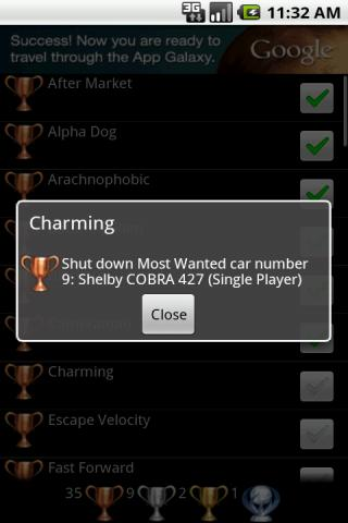 Trophies 4 NFS Most Wanted - screenshot