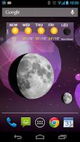 Screenshot of Moon Phases Widget