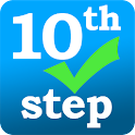 (AA) 10th Step Check In logo