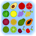 Fruit Memory Game For Kids icon