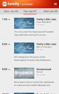 WATCH ABC Family - screenshot thumbnail