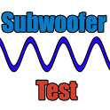 Subwoofer test icon
