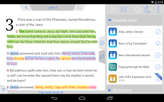 Screenshot of Holy Bible KJV (Offline)