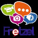 Fretzel Safe Social Kids App icon