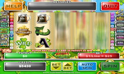 Irish Treasure Slots - screenshot thumbnail