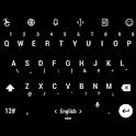 Theme TouchPal Flat Black icon