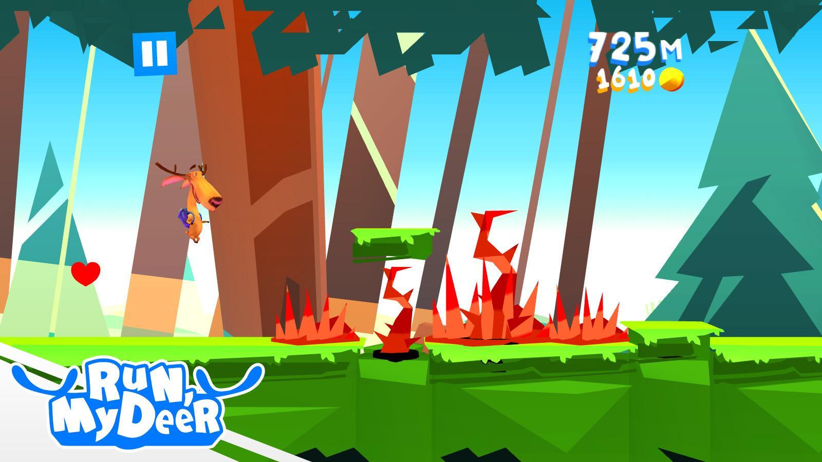 Run My Deer v1 Unlimited Gold Mod Apk Download