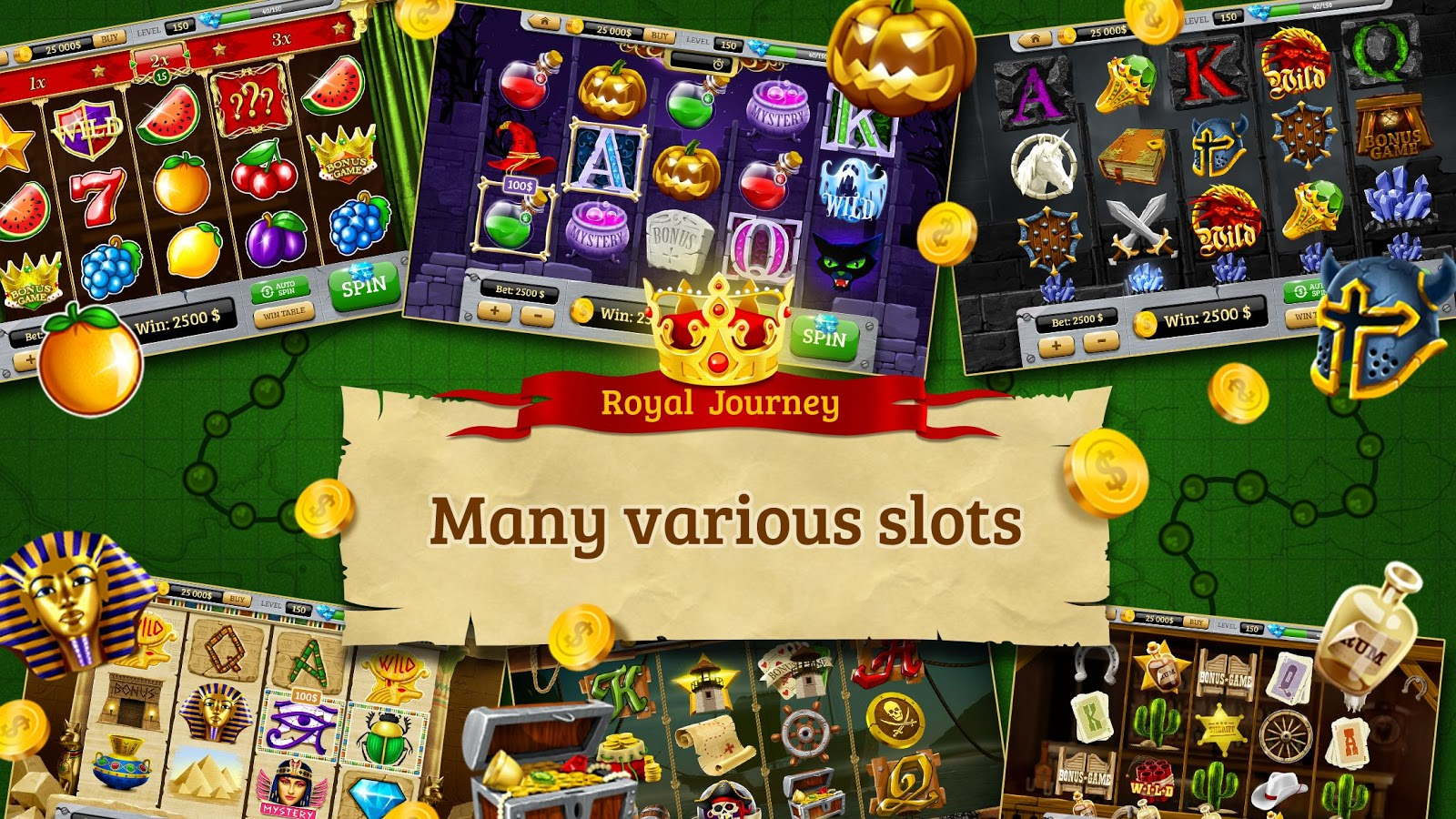 free slots journey game