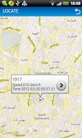Screenshot of My Tracking