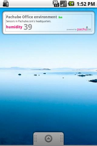 Pachube Widget (Official)- screenshot