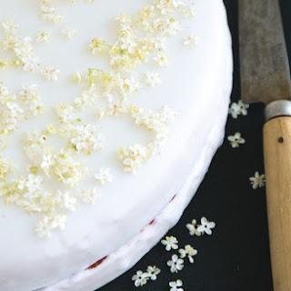 Strawberry-Elderflower Cake