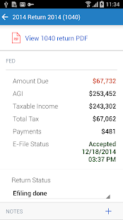 Intuit Tax Online Accountant- screenshot thumbnail