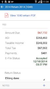 Intuit Tax Online Accountant - screenshot thumbnail