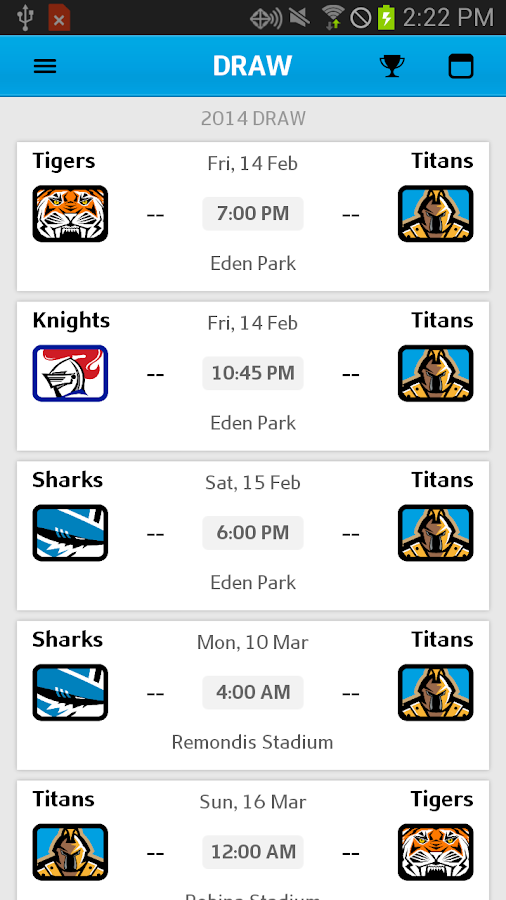 Gold Coast Titans Android Apps On Google Play