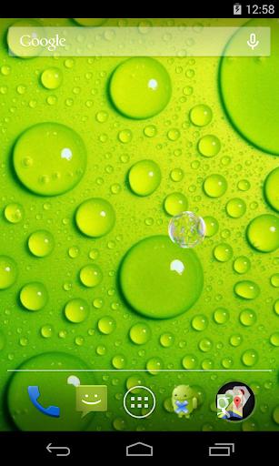 【免費個人化App】Water drops Live Wallpaper-APP點子