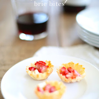 Strawberry Brie Bites | Easy Appetizer