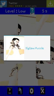 Cartoon Ariana Puzzle Game - screenshot