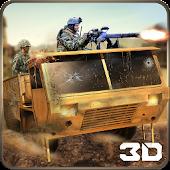 Desert Military Base War Truck