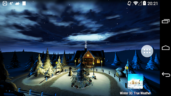 Winter 3D, True Weather - screenshot thumbnail