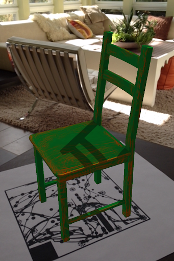 One 3D Chair