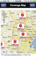 Screenshot of Lifeline Ambulance