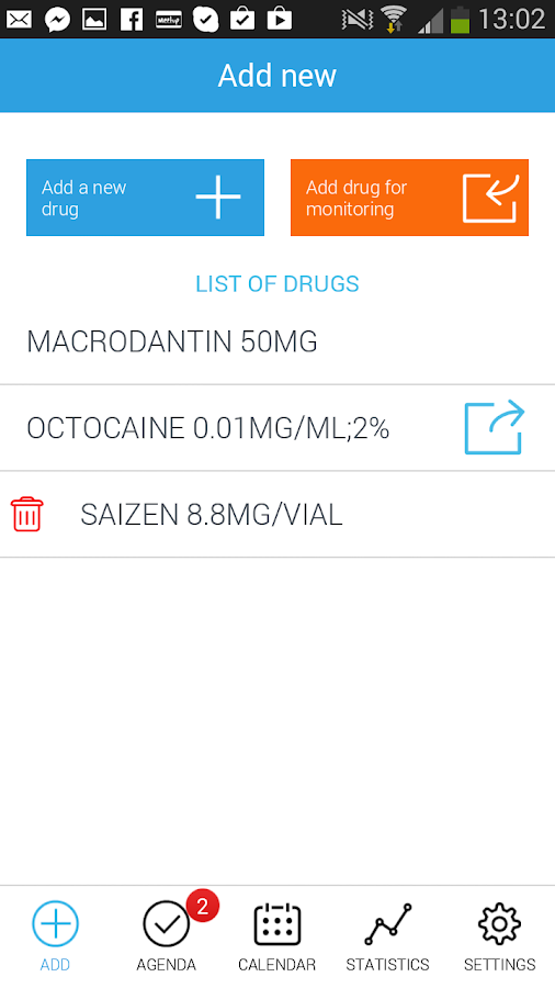 My Treatment - screenshot