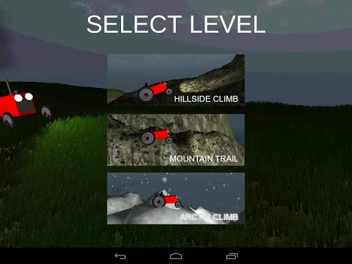 【免費賽車遊戲App】Hill Climb Tractor Racing 3D-APP點子