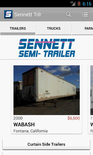 Sennett Semi Trailer